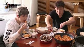 발칙한동거 강다니엘 먹방 모음 (feat.와-앙)