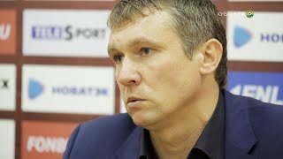 После матча: Андрей Талалаев