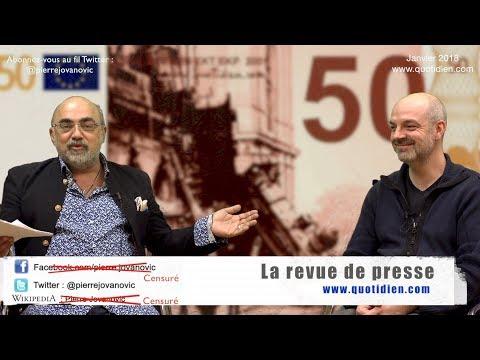 P. Jovanovic - L. Fendt : La revue de presse (Janvier 2018)