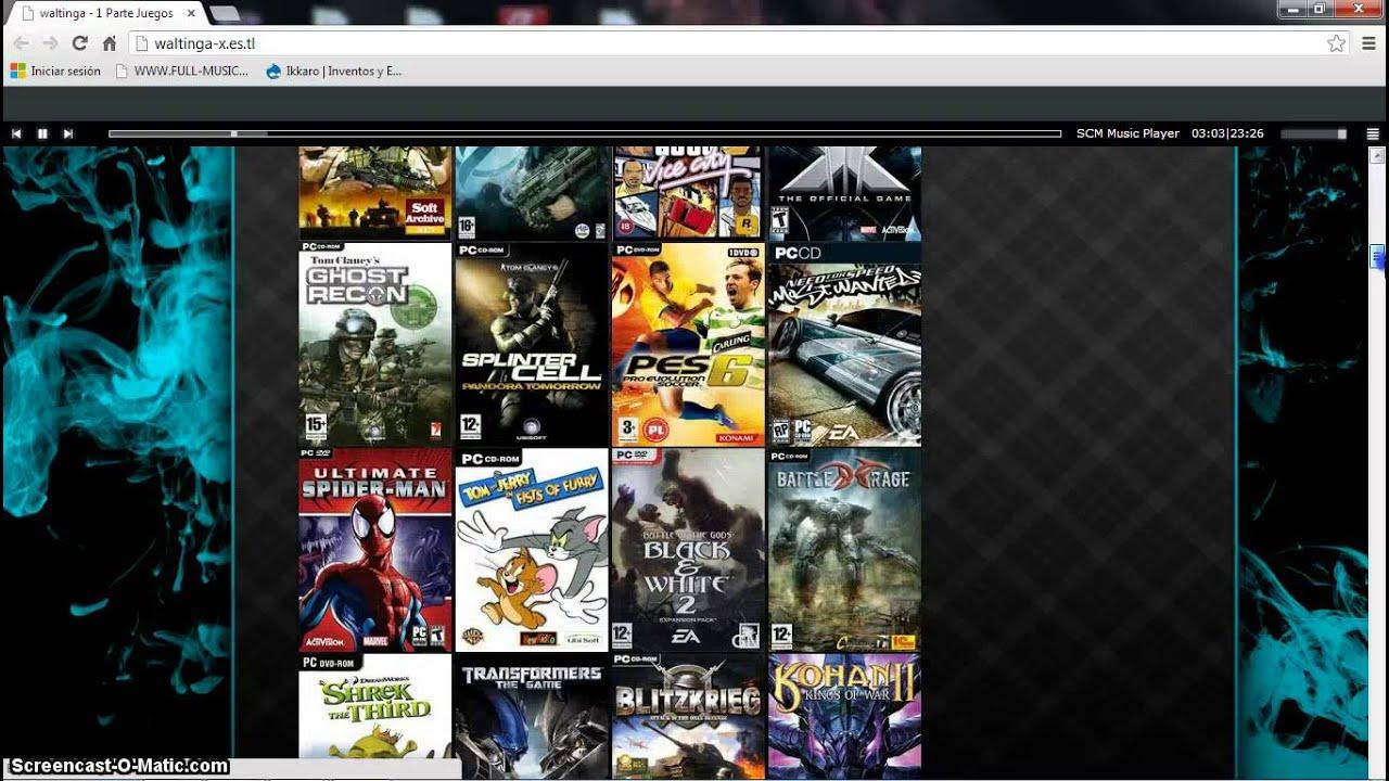 descargar juegos para pc 1 link 2013
