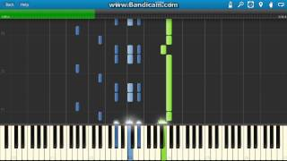 Sousa - The Stars And Stripes Forever piano (Synthesia)