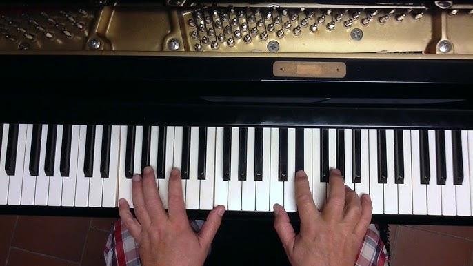 Tutorial Piano Y Voz Soñar Contigo Toni Zenet Youtube