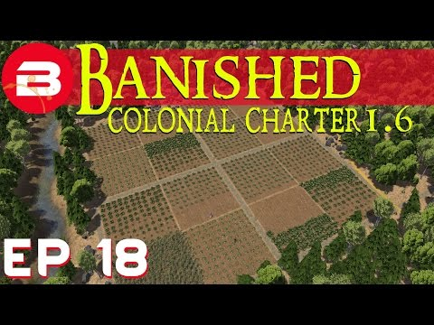 Banished Colonial Charter 1.6 - Fast Food! - Ep 18 (Gameplay w/Mods)