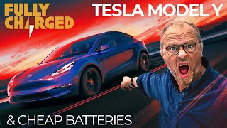 Tesla Model Y and Cheap Batteries | Fully Charged