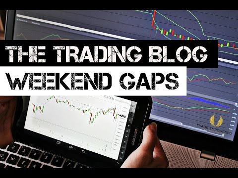 The Trading Blog 008 – Weekend Gaps