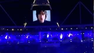 Olympics Closing Ceremony 2012 John Lennon Imagin
