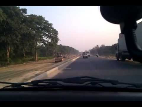 NH 34 widening between Dhubulia and Krishnanagar