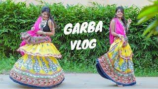 Watch Me Play Garba For 3 mins Straight | #DhwanisDiary