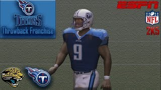 I HATE The Jaguars | ESPN NFL 2K5 Titans Franchise Y1G3 vs Jaguars