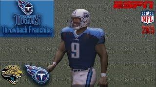 I HATE The Jaguars | ESPN NFL 2K5 Titans Franchise Y1G3 vs Jaguars
