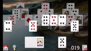How to play Tri-Peaks Solitaire, All-Peaks Solitaire game