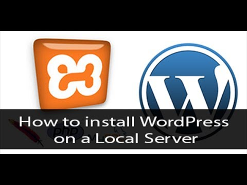 How to install wordpress locally / Using XAMPP Server Step ...