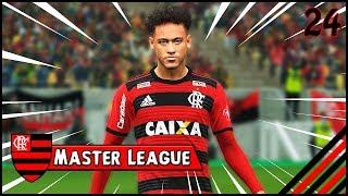 NEYMAR ц‰ APRESENTADO PELO FLAMENGO    Master League Brasileirцёo 24 PES 2018   PC