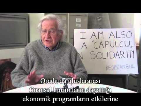 Noam Chomsky's Call To The World About The Taksim Gezi Park Resistance