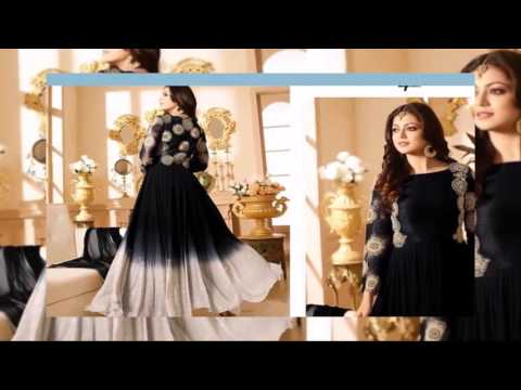 Anarkali Style Gowns EID Collection Salwar Kameez 2 latest fashion 2017 uk