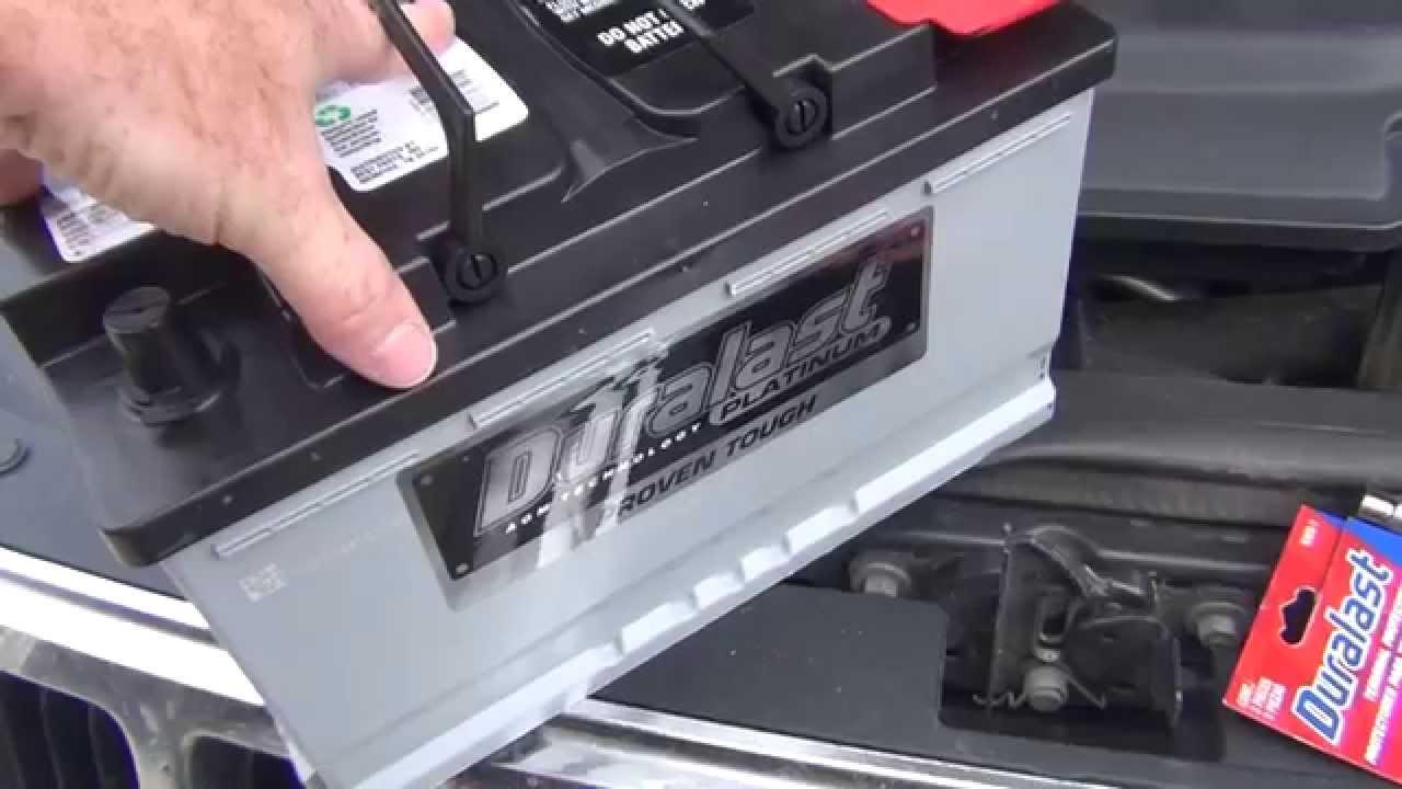 2005 Jeep Grand Cherokee Battery Opps