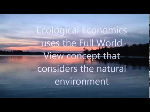 What is Ecological Economics?