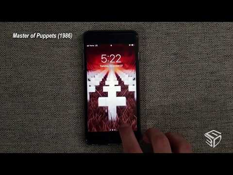 Metallica Animated Wallpapers For Ios Youtube