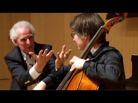 Interpretation Class: Beethoven - Cello Sonata No. 4