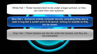 Hacking Classes 1:  What is and who is a hacker