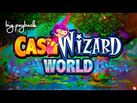 Cash Wizard World Slot - FUN SESSION, ALL FEATURES! - 동영상
