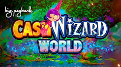 Cash Wizard World Slot - FUN SESSION, ALL FEATURES!