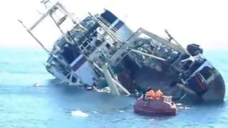 Top 10 shocking ship sinking compilation   2016