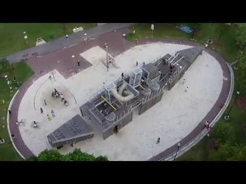 DJI Phantom Vision 2+ flight over Sembawang Park