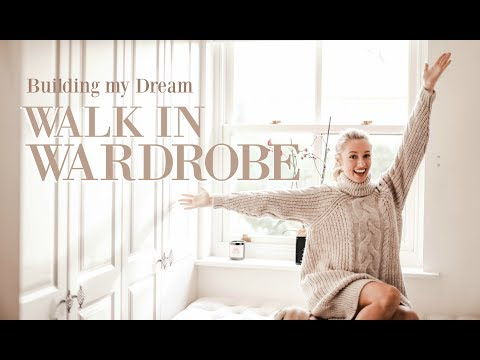 BUILDING MY DREAM WALK-IN WARDROBE!  // Designing the perfect closet // Fashion Mumblr thumbnail