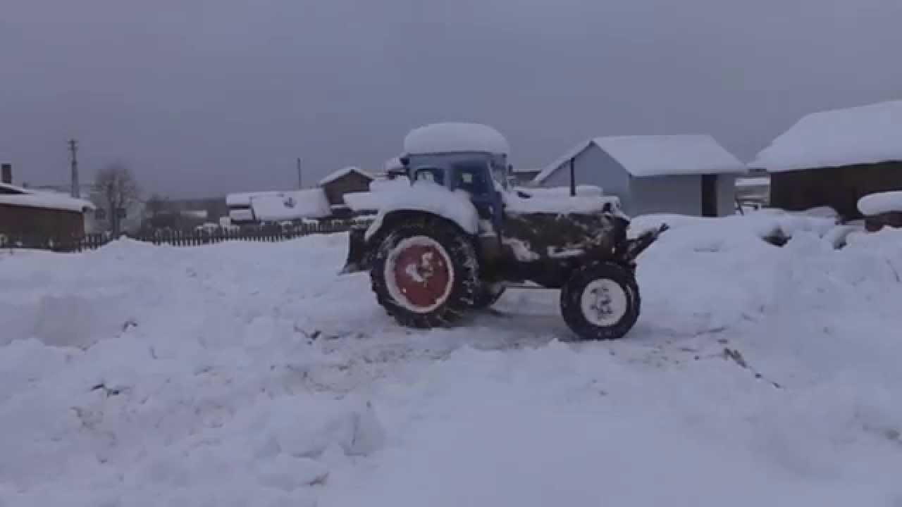 Снежные сугробы и Т40АМ YouTube