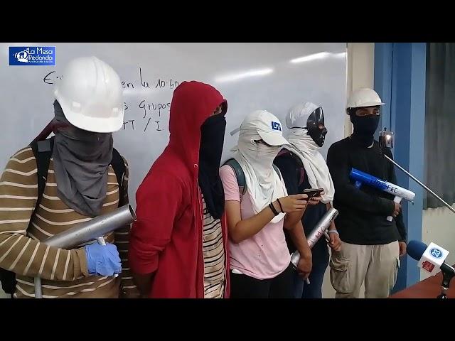 Estudiantes de la UNI