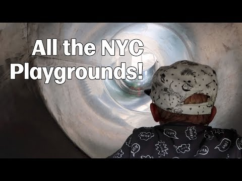 All About Those NYC Playgrounds - June 30-July 2, 2017