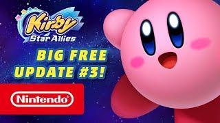 Kirby Star Allies - DLC 3 Announcement Trailer (Nintendo Switch)