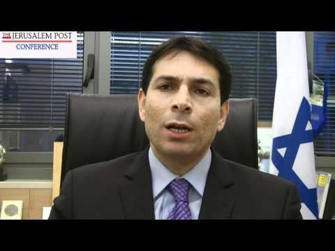 Danny Danon speaks about the Jerusalem Post Conference