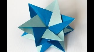 Origami - How To Fold A Double Star Of David
