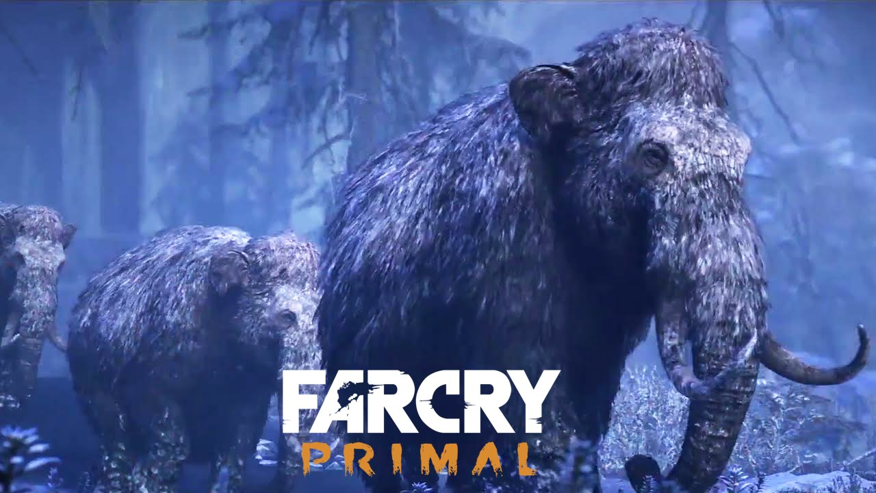 Far Cry Primal Legend Of The Mammoth Missions Pre Order Dlc 1080p Hd Youtube