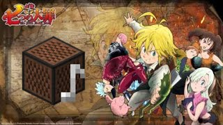 "Nanatsu no Taizai OP 2 ""Seven Deadly Sins"" - Minecraft Noteblocks"