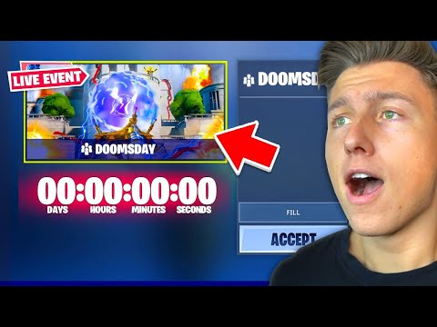 Fortnite Doomsday Live Event Jetzt Youtube