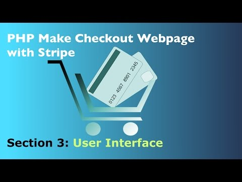 How to Use PHP for Stripe Simple Embedded Checkout Form UI - Overview