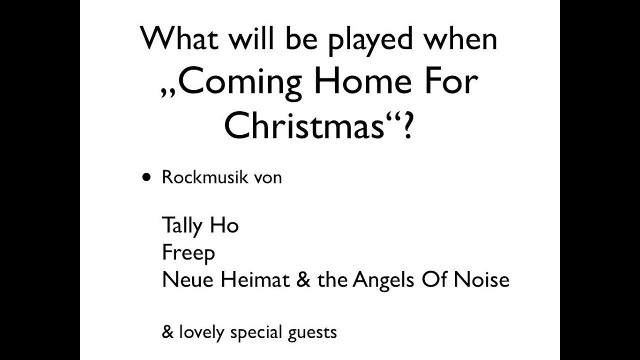 Coming Home For Christmas 2011 - YouTube