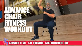 Advance Chair Fitness - CARDIO BOX - Fat Burner! 100% Seated Exercise! | Sit and Get Fit!