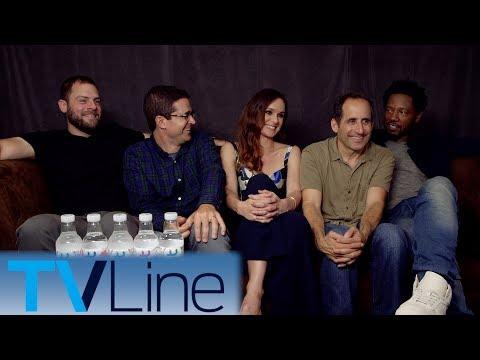 Colony Interview | Comic-Con 2017 | TVLine