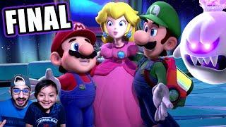 Final Épico en Mansión de Luigi | Luigi's Mansion 3 Capitulo Final | Juegos Karim Juega