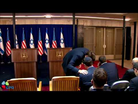 PM Netanyahu and President Trump address the Media at the Prime Minister