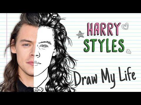 HARRY STYLES | Draw My Life