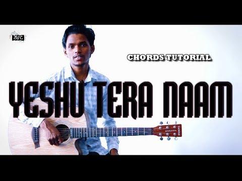 Yeshu Tera Naam | Yeshua Band | Guitar Chords Tutorial By AFC Music | Hindi Christian Worship Song