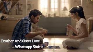 Brother and Sister Love Whatsapp Status |Karthi |Dilse Music