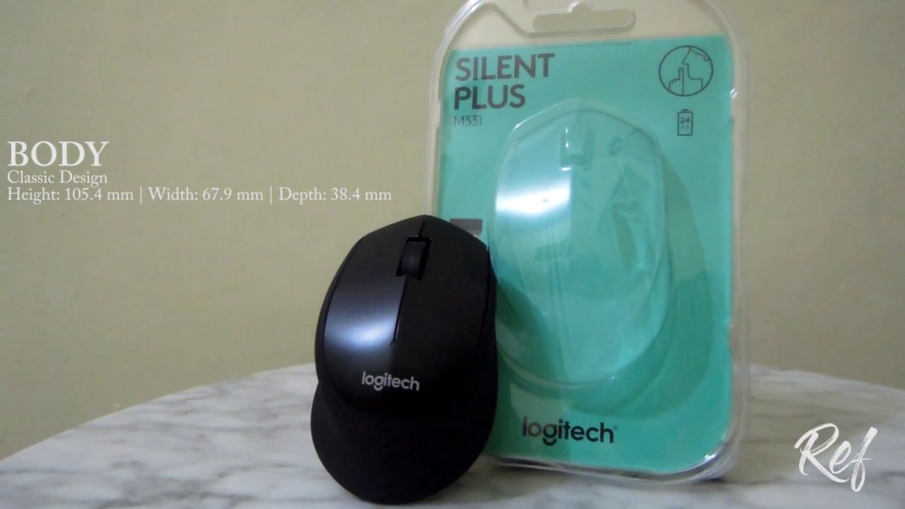 Logitech M331 Silent Plus Benarkah Ini Review Unboxing Cordless Mouse This Is Really