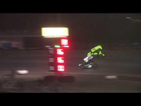 Nodak Speedway Sprint Car A-Main (Motor Magic Night #2) (9/3/17)
