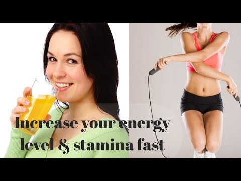How to increase energy stamina vitality & endurance. Video guide